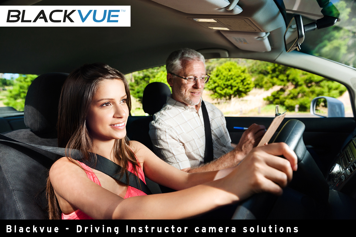 Blackvue HD Driving Instructor Dash Camera Range
