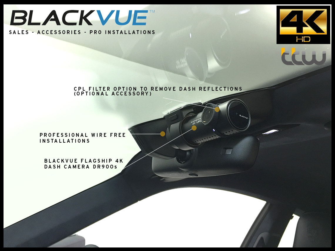Blackvue Dash Camera UK Sales, Accessories, professional Installations - Blackvue 4K Range