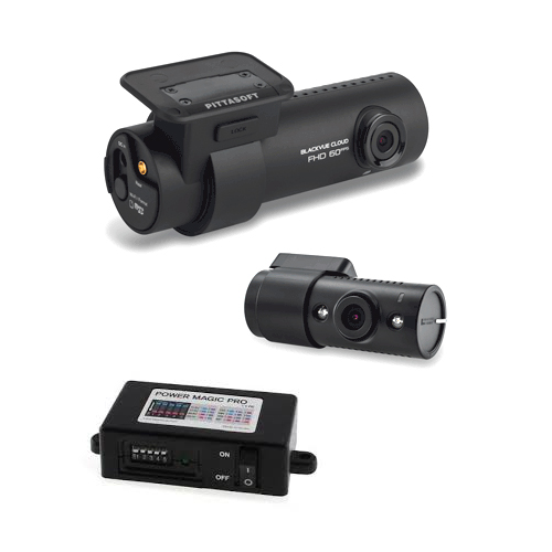 Blackvue DR750s-ir-kit with Power Magic Pro