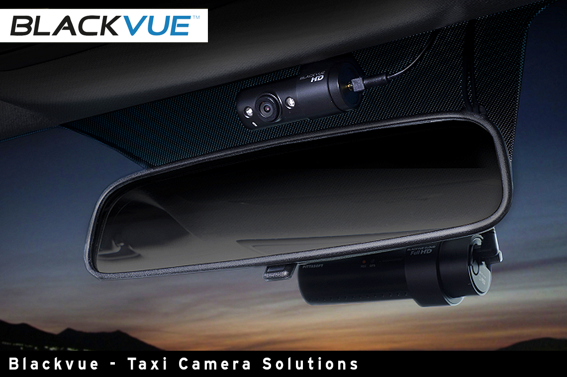 Blackvue Taxi Approved Dash Camera Range