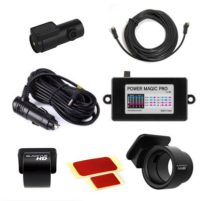 Blackvue 2nd Full car Kit For DR750s