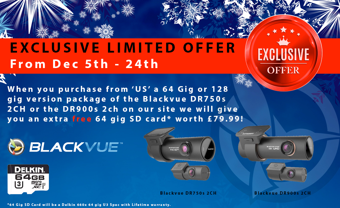 Blackvue Limited Christmas Offer
