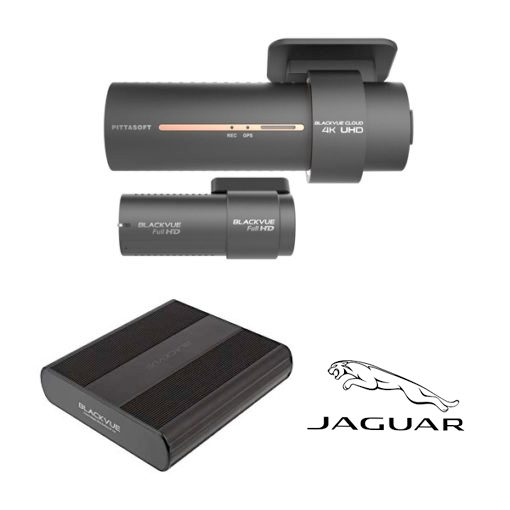 BlackVue DR900S-2CH Jaguar Package - Blackvue Shop
