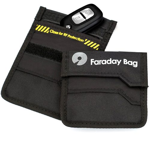 Key Shield (KS1) Faraday Bag – RF Shielding for Car Keys